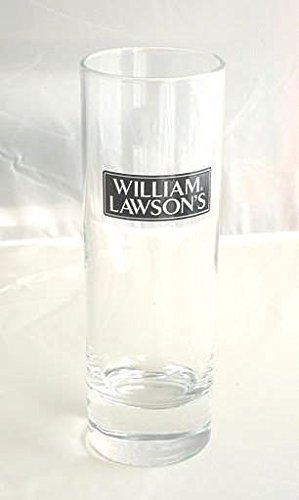 Lote de 2 cristal WILLIAM LAWSON'S 22cl tubo largo