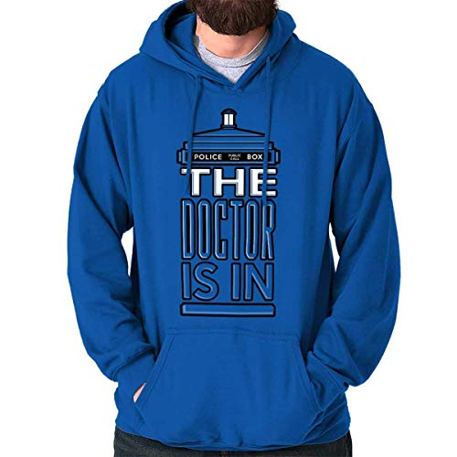 AOT-T Hoodie The Doctor is in Funny Dr Time Lord Who Capucha
