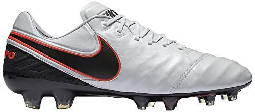 Nike Herren Tiempo Legend VI FG Fußballschuhe, Mehrfarbig (Pr Pltnm Blk Mtllc Slvr Hypr O), 36.5 EU