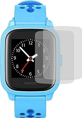 4ProTec I 2X Crystal Clear klar Schutzfolie für Anio 4 Bildschirmschutzfolie Displayschutzfolie Schutzhülle Bildschirmschutz Bildschirmfolie Folie