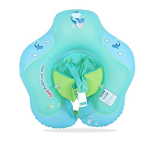 Gcxzb Schwimmreifen Baby-Schwimmring-Kreis Schwimmbad Unterarmkreis Kinder 0-3 Jahre alt-6 Jahre alt (Color : 49)