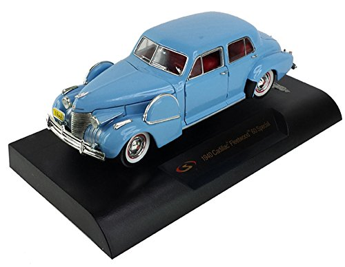 Cadillac 1940 Sixty Special Blue 1/32 by Signature Models 32361