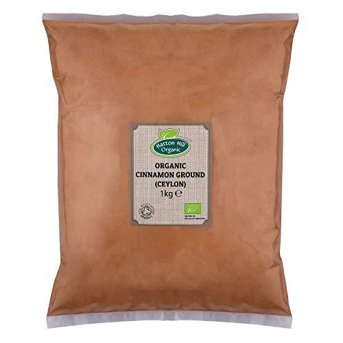 BIO Ceylon Zimt gemahlen, Zimtpulver (echte) 1kg von Hatton Hill Organic – BIO zertifiziert
