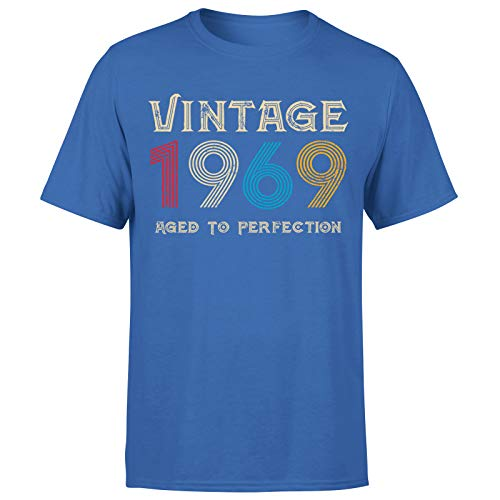 Classic Vintage 1969 Envejecido a la perfección regalo de 52º cumpleaños para hombre de regalo para él