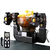 ZXMOTO Ping Pong Robot Machine with 36 Different Spin Balls Table Tennis Robots...