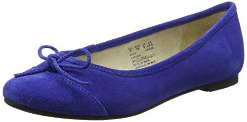Hush Puppies Alina Grace, Bailarinas para Mujer, Azul (Blue), 39 EU