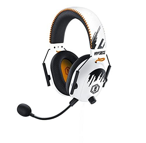 Razer Blackshark V2 Pro Six Siege Special Ed - Auriculares Inalámbricos para Juegos de Deportes Electrónicos, Reducción de Ruido, para PC, Mac, PS4, Xbox One y Switch