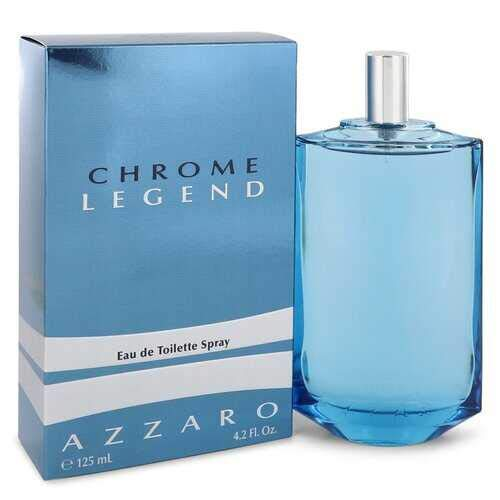 Chrome Legend by Azzaro Eau De Toilette Spray 4.2 oz (Men)&Value for money&
