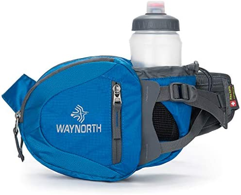 Waynorth Hiking Waist Bag Fanny pack Bum Bag with Water Bottle Holder for Men Women Running product image