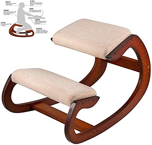 LAL6 Kniestuhl Hocker, Schaukel Möbel Aus Holz Kniend Computer-Haltung Chair Design Korrektur Der Körperhaltung Anti-myopie Stuhl