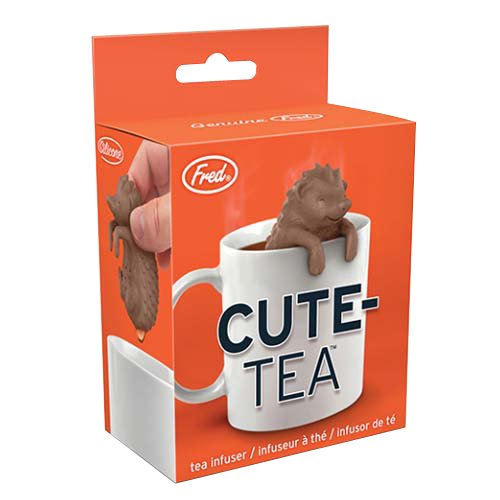 Fred & Friends Under The Tea Tee-Ei, Silikon, braun, 4 x 5 x 7 cm