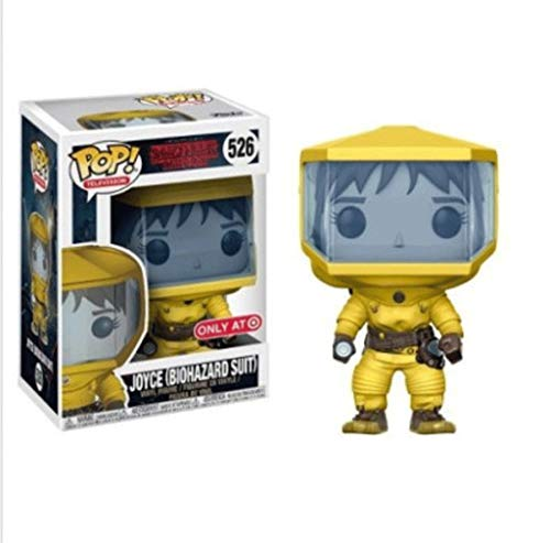 Funko Pop Television : Stranger Things – Joyce (Biohazard Suit) 3.75inch Vinyl Gift for Horror Television Fans SuperCollection