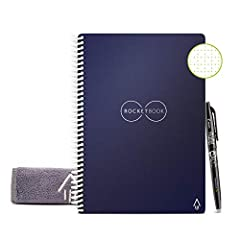 No more wasting paper - this environmentally-friendly 36 page dotted grid notebook can be used endlessly by wiping clean with a damp cloth Blast your handwritten notes to popular cloud services like Google drive, Dropbox, Evernote, box, OneNote, Slac...