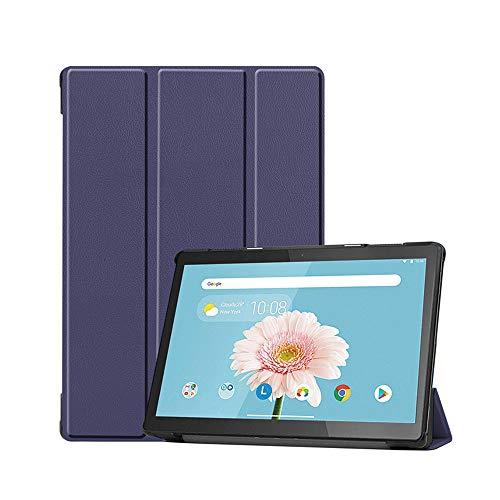 NUPO Hülle für Lenovo Tab M10 TB-X605F/TB-X605L 10.1 Zoll 2018, Ultra Slim Cover Schutzhülle PU Ultra Leightweight Flip Hülle mit Standfunktion, Ideal Geeignet für Tab M10 TB-X505F/X505L Tablet