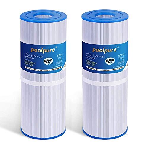POOLPURE 2X Filtros de SPA para el reemplazo de la bañera de hidromasaje para Pleatco PRB251N, Filbur FC-2375, Unicel C-4326