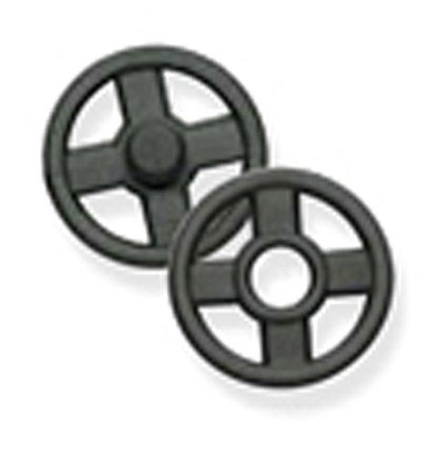 knopf automatik, kunststoff, transparent und schwarz, verschiedene größen (219 5132 | 10 mm | schwarz)