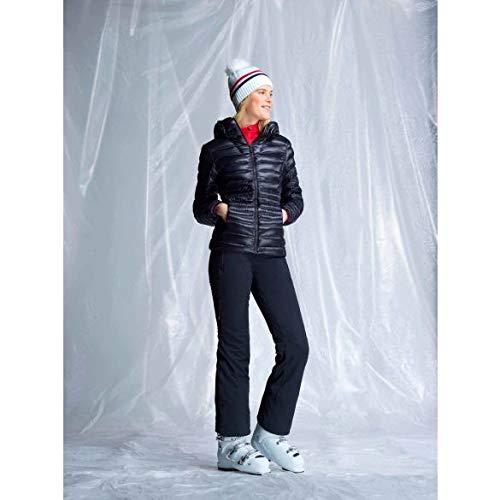 Rossignol Damen Light Down Hood Skijacke, Schwarz, m