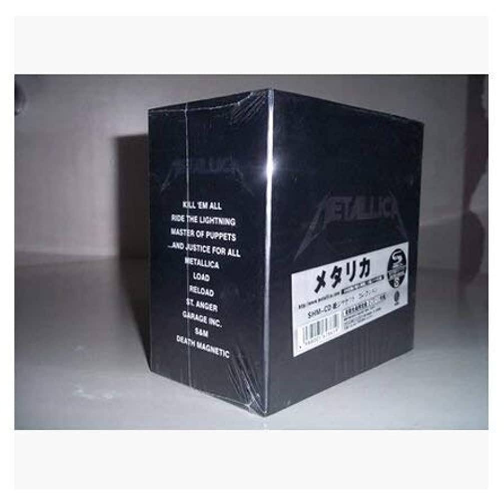 農村資本主義加入Metallicaメタリカ 生産限定仕様 BOX 13CD
