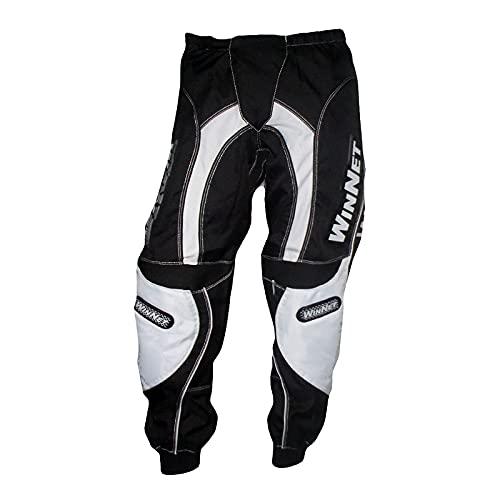 WinNet Pantaloni da Moto Cross Enduro Quad