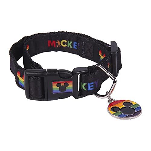 Cerdá - For Fan Pets, Collar Perro Disney Pride - Licencia Oficial Disney,Multicolor