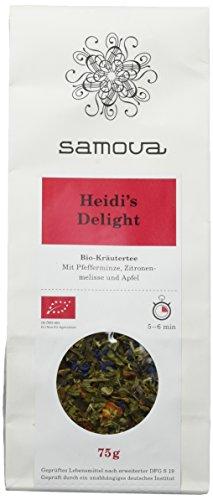 Samova Heidi's Delight Refill - Schweizer Bio-Kräuter 75g, 1er Pack (1 x 75 g)