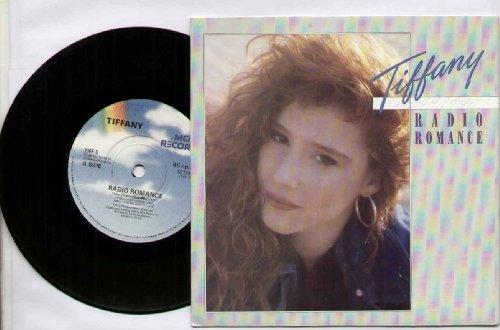 TIFFANY - RADIO ROMANCE - 7 inch vinyl / 45 record