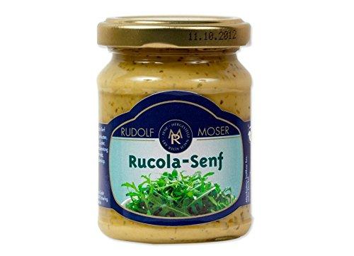 Rudolf Moser's ★ Rucola Senf ★ Premium Qualität ★ 140ml