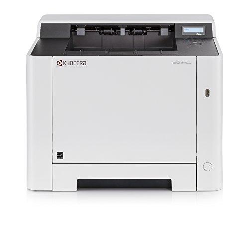 Kyocera Klimaschutz-System Ecosys P5026cdn Laserdrucker. 26 Seiten pro Minute. Farblaserdrucker mit Mobile-Print-Unterstützung. Amazon Dash Replenishment-Kompatibel