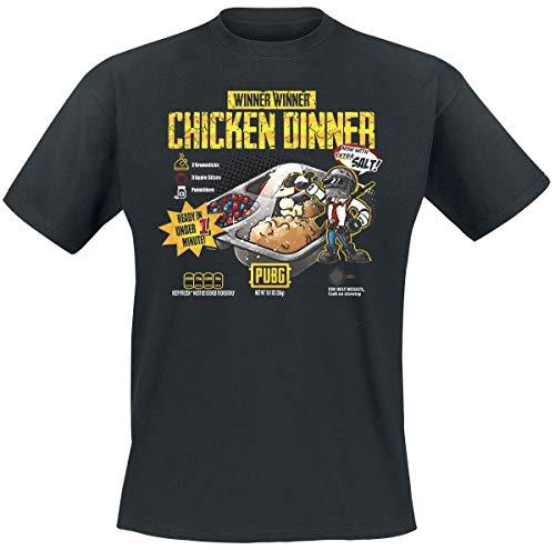 J!NX Playerunknown's Battlegrounds (PUBG) Premium T-Shirt Cuisine XXL