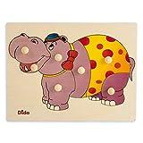 Dida - Puzzles Infantiles Madera - Hipopótamo