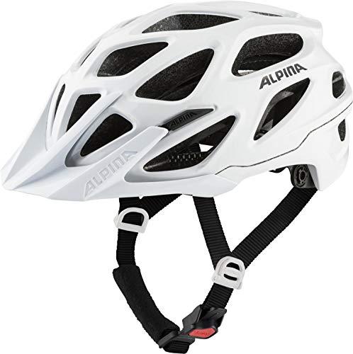 ALPINA Unisex - Erwachsene, MYTHOS 3.0 Fahrradhelm, white gloss, 57-62 cm