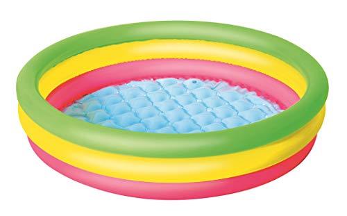 Bestway 1051104XXX19 Φ40 X H10/Φ1.02M X H25Cm Summer Set Pool ,wielokolorowy ,102 x 102 x 25 cm