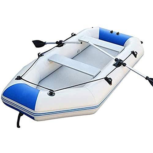 SJASD Barca Hinchable para 2 Personas Conjunto Kayak Plegable Grande Barco De Pesca De Mar De para Adultos con Paddle