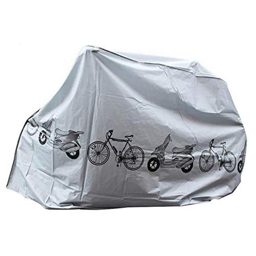 Uayasily Cubiertas para Bicicletas Polvo Lluvia Cubierta Exterior de protección UV Cubierta Impermeable de Bicicletas