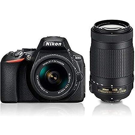 Nikon D5600 with AF-P 18-55 mm + AF-P 70-300 mm VR Kit with Bag and 16GB Memory Card Free