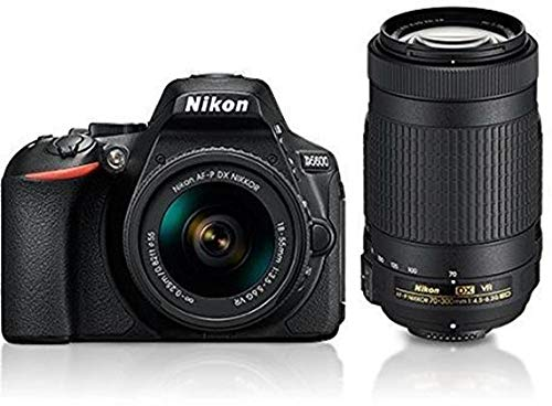 Nikon D5600 with AF-P 18-55 mm + AF-P 70-300 mm VR Kit with Bag...