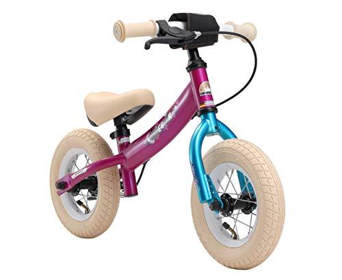 BIKESTAR Kinder Laufrad Lauflernrad Kinderrad für Mädchen ab 2 - 3 Jahre | 10 Zoll Sport Kinderlaufrad | Berry Türkis | Risikofrei Testen