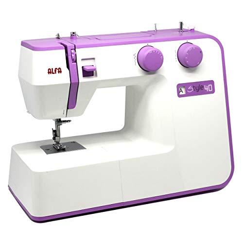 Alfa Style 40 – La mejor máquina de coser de gran potencia
