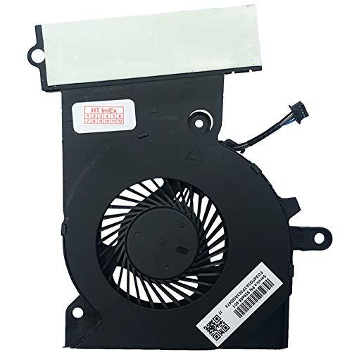 (CPU Version) Lüfter Kühler Fan Cooler kompatibel für HP Omen 15-ce000ng, 15-ce014ng, 15-ce018ng, Omen 15-ce001ng, 15-ce016ng, 15-ce031ng, Omen 15-ce002ng, 15-ce030ng, 15-ce019ng