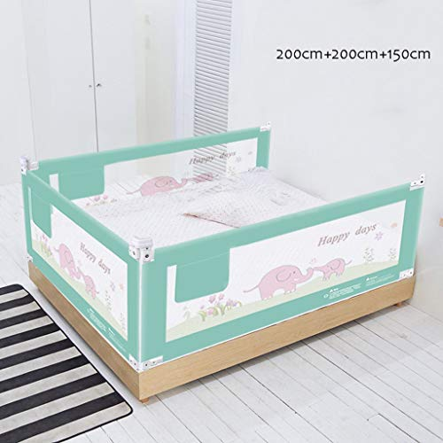 Best Prices! VAIY Bed Fence Baby Fall Prevention Child Bed Guardrail Three Colors Optional 3pcs Bed ...