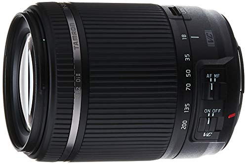 Tamron, Lente Zoom 18-200mm Di II VC All-in-One Zoom compatible con cámaras Canon