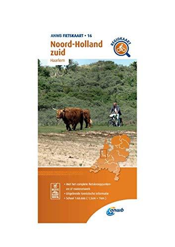 Fietskaart Noord-Holland zuid 1:66.666: Haarlem