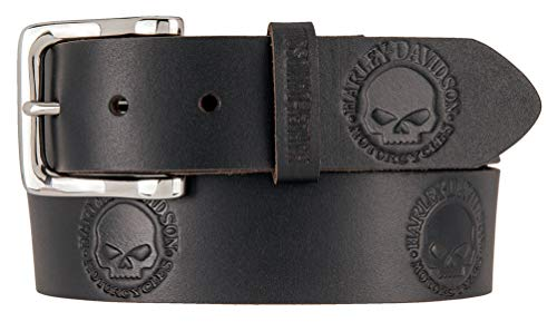 HARLEY-DAVIDSON Herren Gürtel Ledergürtel Willie´s World Belt, 40
