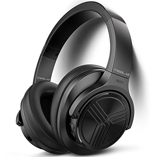 TREBLAB Z2 - Bluetooth Headphones Over Ear | 35H Battery Life | Active Noise Cancelling Headphones...