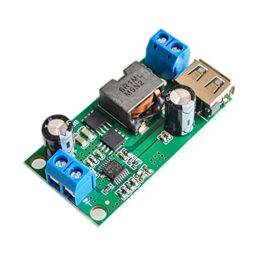 LTH-GD Relais 10pcs lot 5a Buck Module 9V / 12V / 24V / 36V au convertisseur d'alimentation Haute Puissance de véhicule Haute Puissance de 5V DC-DC commutateur de Relais WiFi