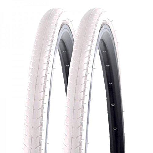 2x Kenda Rennrad Fixie Reifen Kontender K-196 26-622 700x26C Draht weiß