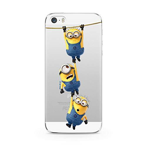 Ert Group DWPCMINS13808 Custodia per Cellulare Minions 033 iPhone 5/5S/SE