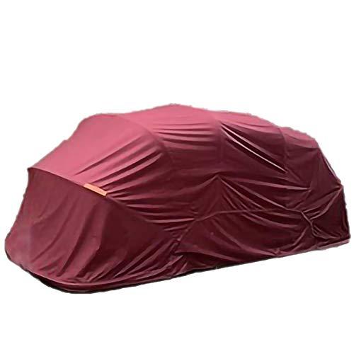 LiChenY Garage Auto Carport - 5,5m * 2,5 M - Hydraulische Halbautomatische Edelstahl Tragbare Garage Carport Shelter mit Anti-UV Wasserdicht Winddicht Schmutzabweisende Garage