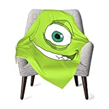 MAIMATIEKE Colorful Monsters, Inc Baby Blanket Cartoon Flannel Throw Blankets Bedding for Toddler Boys Girls Blanket 30x40 in