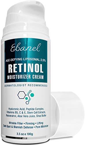 Ebanel Age Defying Liposomal 2.5% Retinol Moisturizer Cream